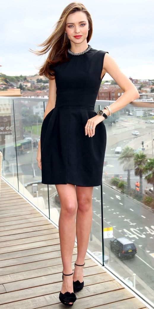 Check out how to how to dress up a black dress!