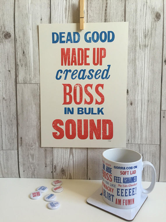 Liverpool sayings. Boss. Sound