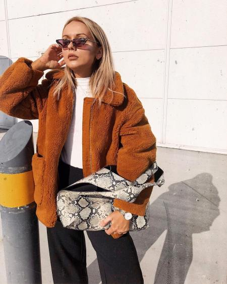 How To Wear Snake Print This Autumn