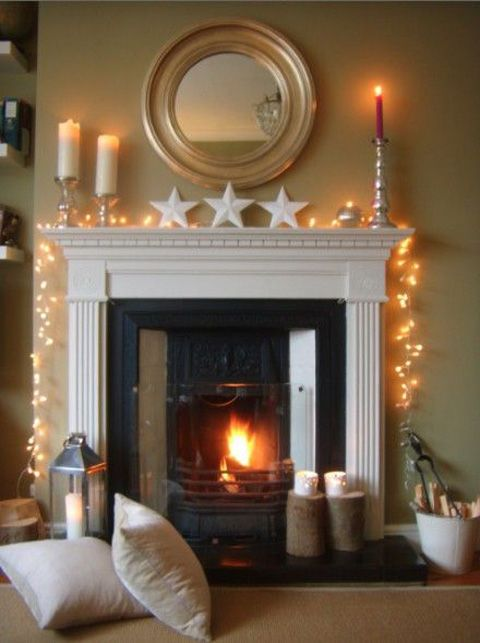 How To Decorate A Mantel For The Holidays With Christmas Mantel Decorations