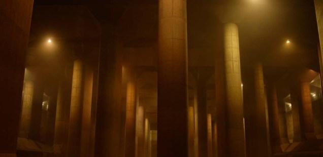 首都圏外郭放水路 ~浸水被害から守る大規模な地下神殿~