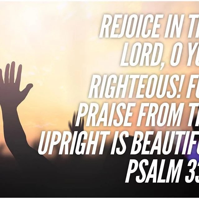 """""""Rejoice in the Lord, O ye rigtheous:"""" rejoice, O ye righteous, not in yourselves, for that is not safe; but in the Lord. """"For praise is comely to the upright"""" : these praise the Lord, who submit themselves unto the Lord; for else they are distorted and perverse. - Saint Augustine . #Praise #Rejoice #RejoiceInTheLord #CopticOrthodox #Orthodox #Coptic #DailyReadings #Psalms"""