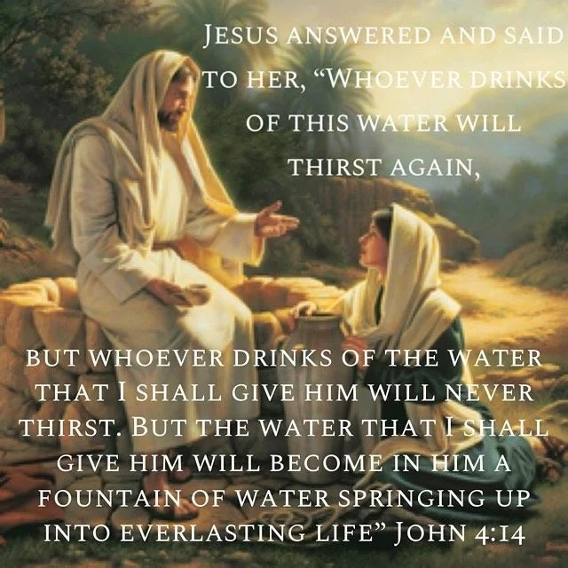"""""""Thirst after Jesus and He will satisfy you with His love."""" – St. Isaac the Syrian"""