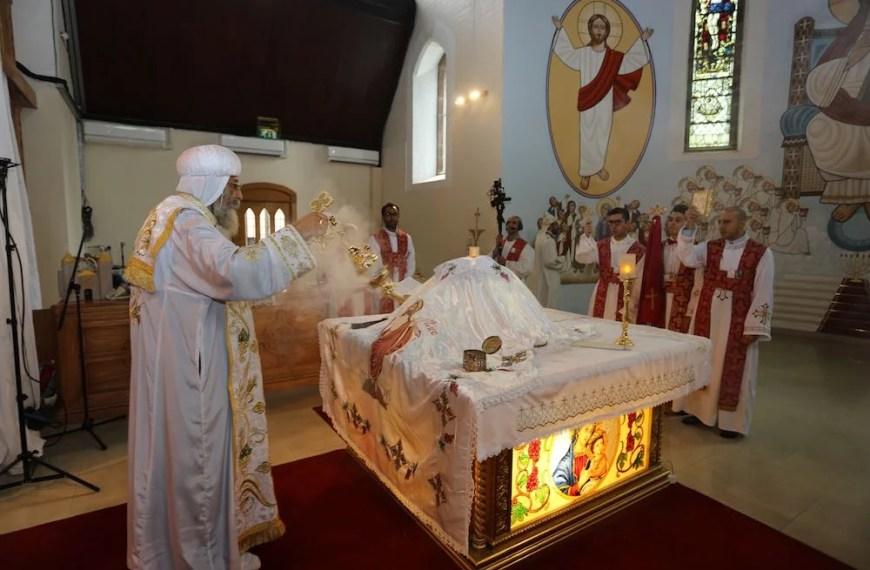 What you will find in a Coptic Orthodox Church