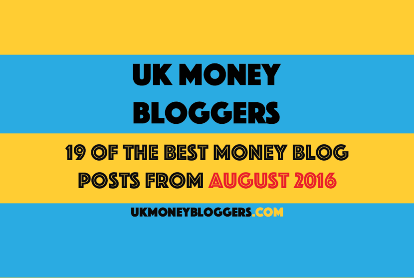 Best of August 2016 money bloggers