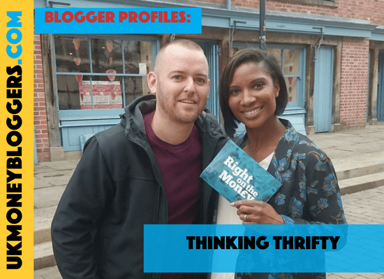 UK Money Blogger David Taylor of Thinking Thrifty.