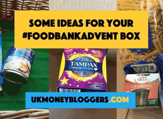 ideas for foodbank advent
