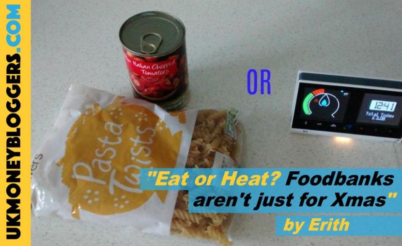 Loose Change - choosing between eating and heating - foodbanks aren't just for Xmas