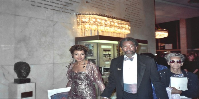 Morgan Freeman with wife Myrna Colley Lee