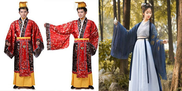 han dynasty chinese traditional dress