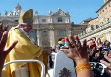 rumours about pope of vatican being infected with coronovirus