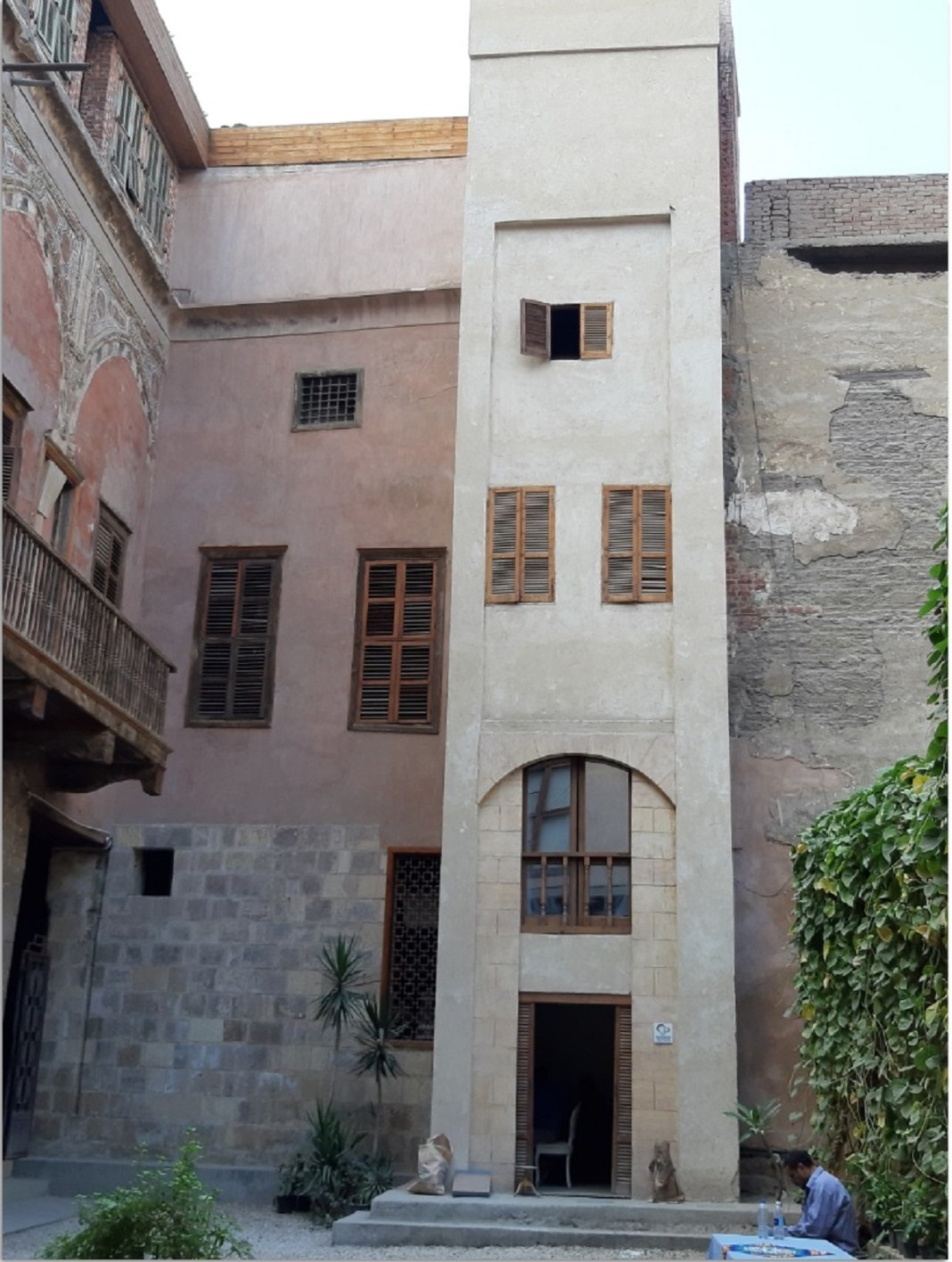 Yakan house in egypt restoration
