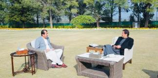 Gilgit-Baltistan Chief Minister Muhammad Khalid Khurshid Khan called on Prime Minister Imran Khan