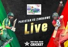 Pakistan vs Zimbabwe 3rd ODI