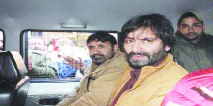 yasin malik freedom fighter kashmir