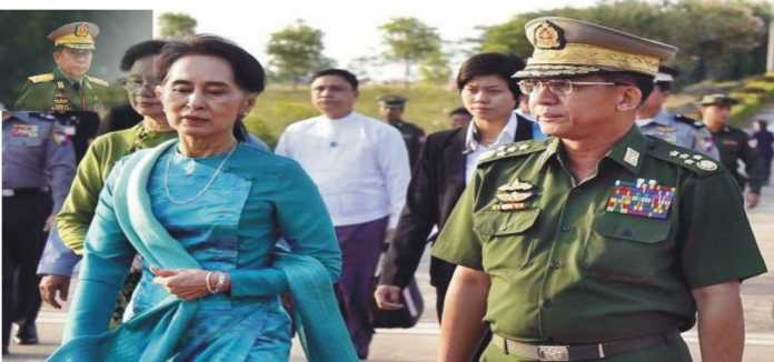 Gen Min Aung Hlaing head of the-Tatmadaw