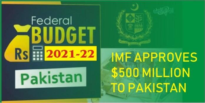 IMF budget for pakistan