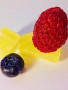 blueberry + raspberry + pineapple