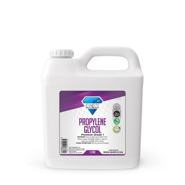 ONYX (1Litre) PROPYLENE GLYCOL (PG) USP/EP Premium Grade Highest Purity