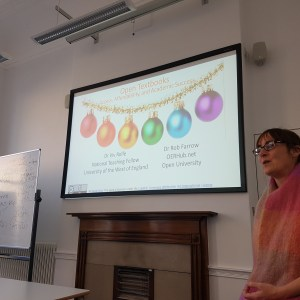 Festive Workshop at Birkbeck, University of London