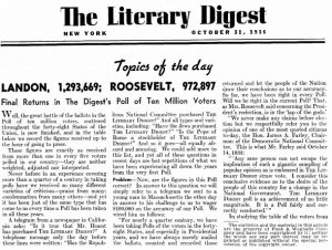 Image result for what went wrong with the literary digest poll of 1936 .edu