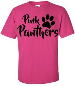 promo code 3432f b86ff Pink Panthers Parent T-Shirt