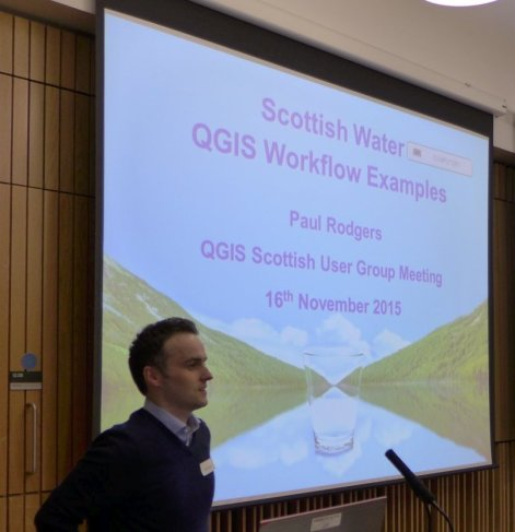 QGIS at Scottish Water