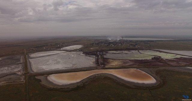 У ґрунті біля адмінмежі з Кримом виявили перевищення сульфатів і хлоридів