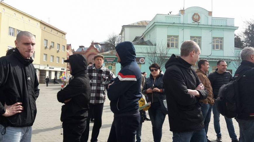 Акція 8 березня 2017 Ужгород