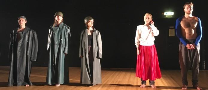 UC-Projekt:  Theaterinszenierung 'KHERSON 1918/2018' am Schauspiel Stuttgart, Kherson – Mykolajiv – Odessa – Stuttgart