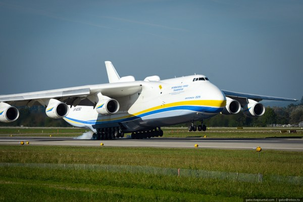 "An-225 ""Mriya"" – the largest aircraft in the world ..."