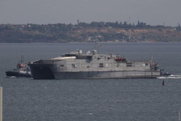 Военный корабль США прибыл в порт Одессы: подробности, фото
