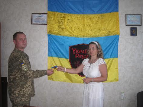 """Відкриття осередку """"Українці-Разом!"""" в Миргороді"""
