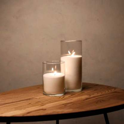 Набор Насыпные Свечи 2 штуки - 16 и 26 см