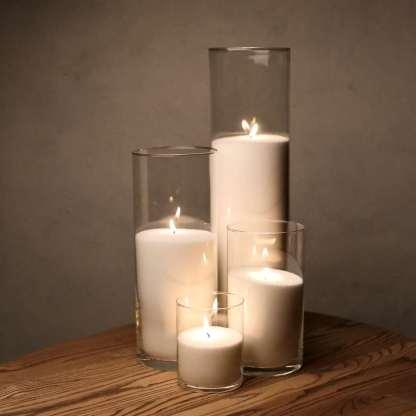 Набор Насыпные Свечи 4 штуки - 12, 21, 31 и 47 см