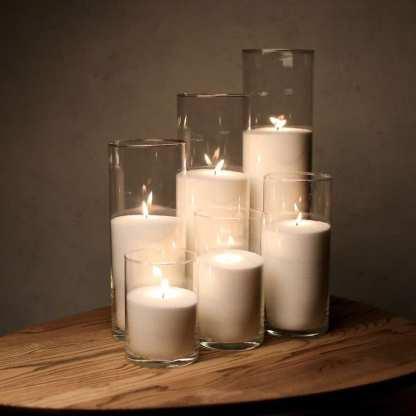 Набор Насыпные Свечи 6 штук - 16, 21, 26, 31, 38 и 47 см