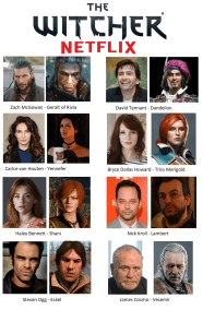netflix witcher cast