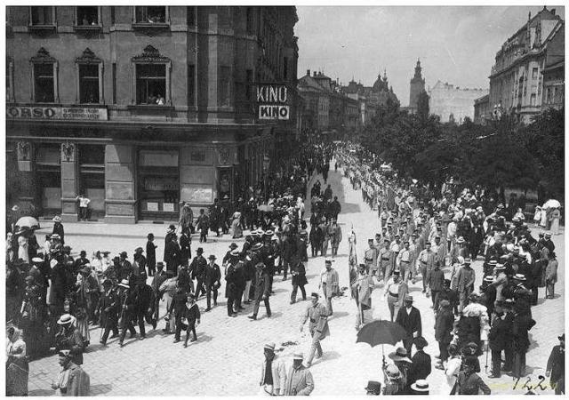 «Шевченківський Здвиг» у Львові, 28.06.1914р.