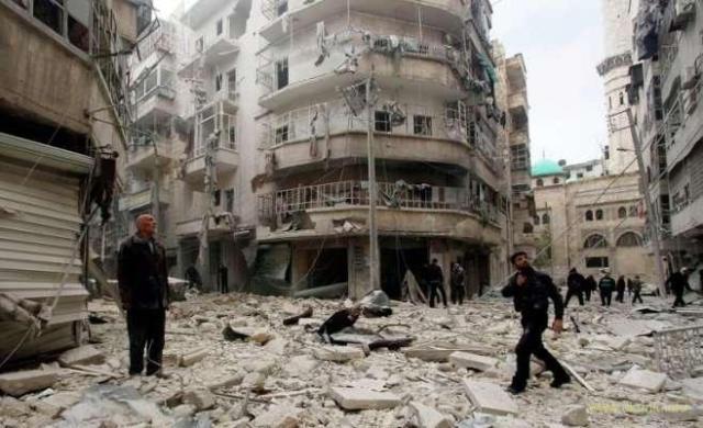 Россия продолжает убивать. Алеппо