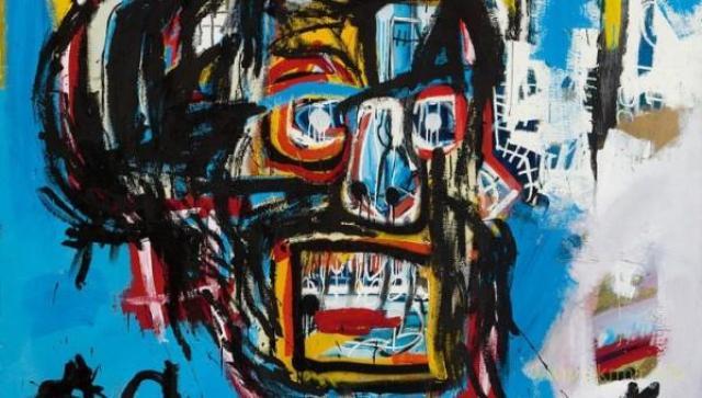 Эта работа Жан-Мишеля Баски продана за 110,5 млн долларов