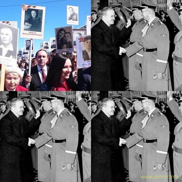Вот он День Победы, а не эти фальшивые парады