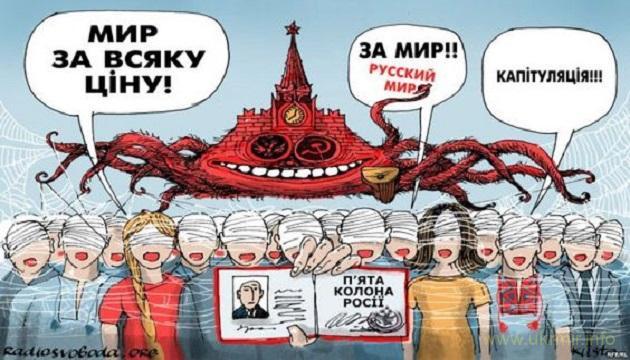 Нам не потрібен мир без перемоги над московською ордою