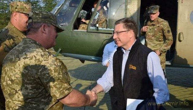 Главные темы визита Волкера в Украину