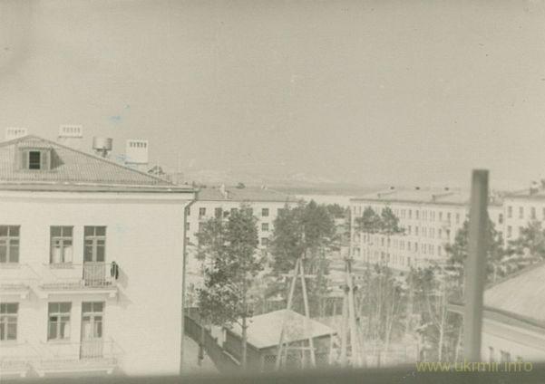 Вид с балкона семьи Фоминых, 1960 год. Фото из архива Таисии Фоминой