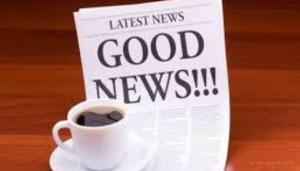Вы искали хороших новостей? Их есть у нас!