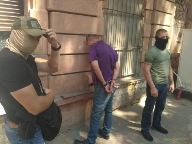 СБУ блокировала незаконный сбыт оружия в Одессе