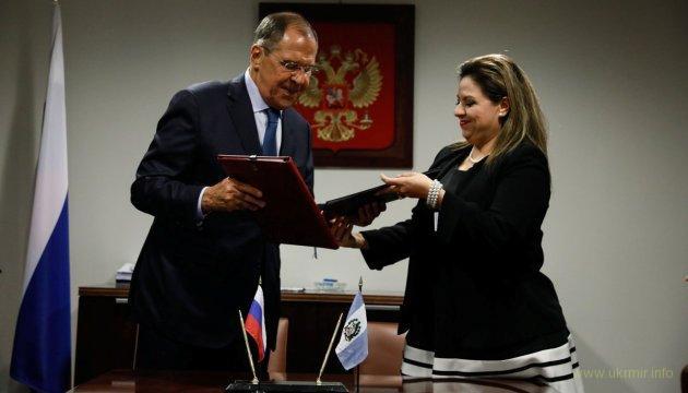 Ржака дня: РФ и Гватемала подписывают «Договор о неразмещении первыми оружия в космосе»