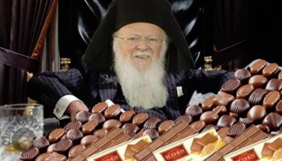 Патріарх Варфоломій має прекрасне почуття гумору