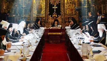 Підписали Томос усі члени Синоду Вселенського патріархату