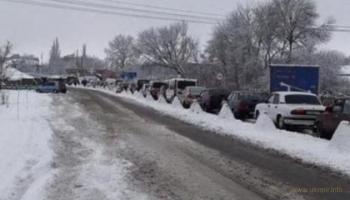 В Донецкой области на блокпосту в очереди умер пенсионер